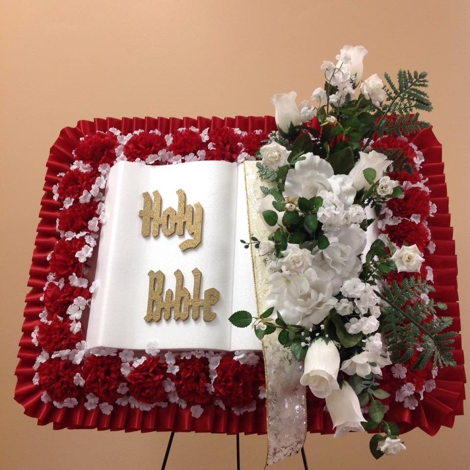 Silk Holy Bible Arrangement