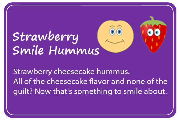 Strawberry Smile Hummus