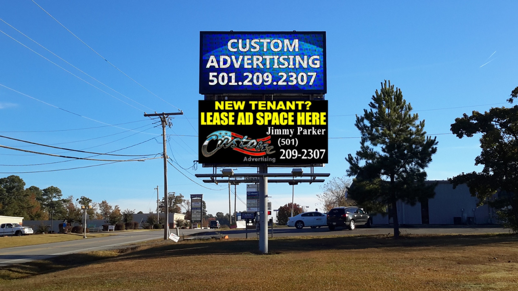 Reserve YOUR Custom Ad Space today!