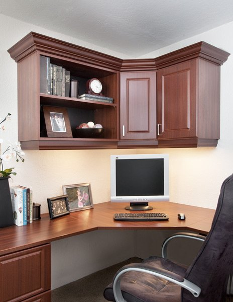 custom home office in Duluth