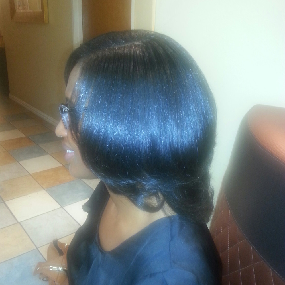 SILK PRESS / NATURAL HAIR