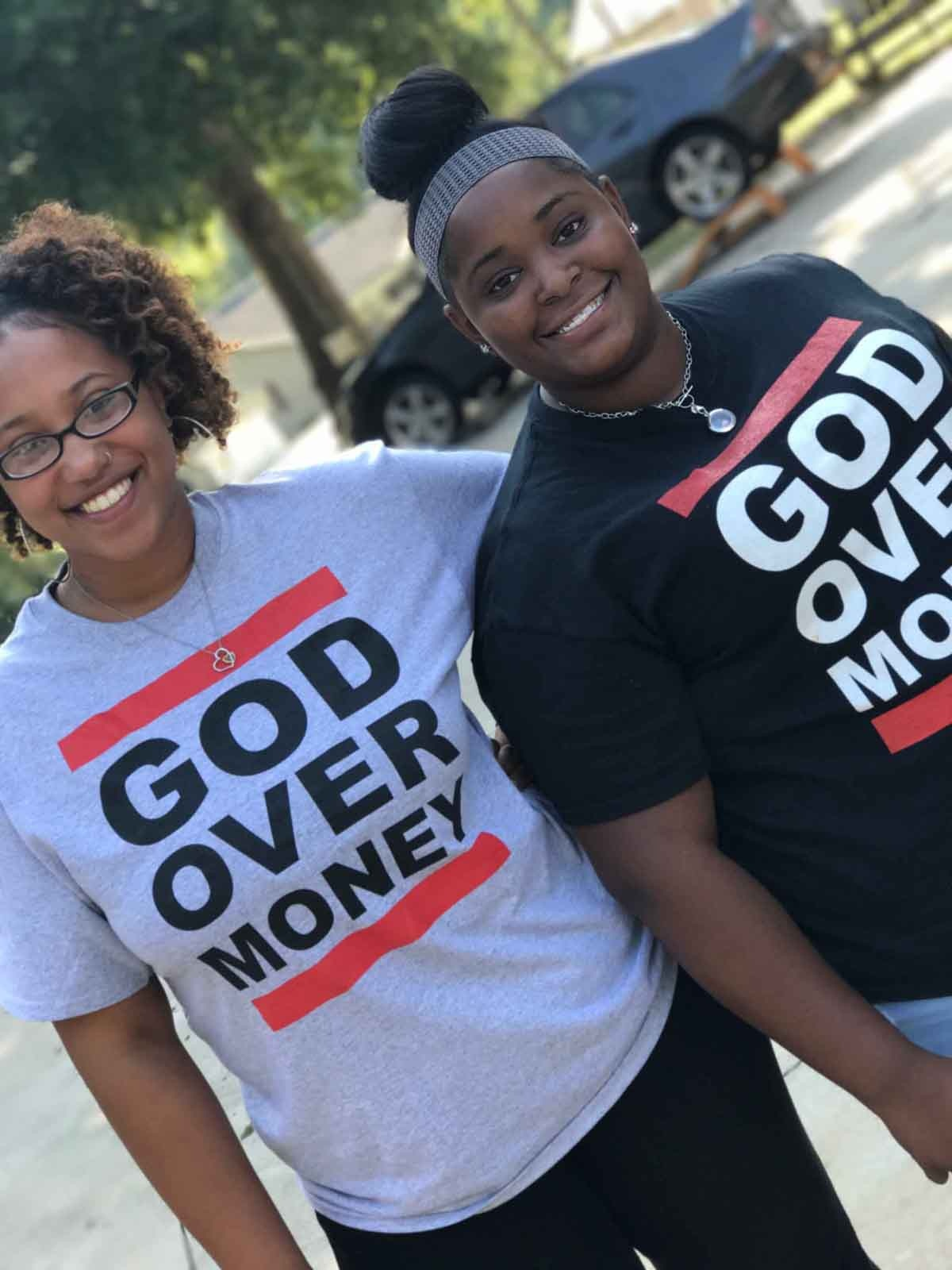 Women Wearing Statement Shirts