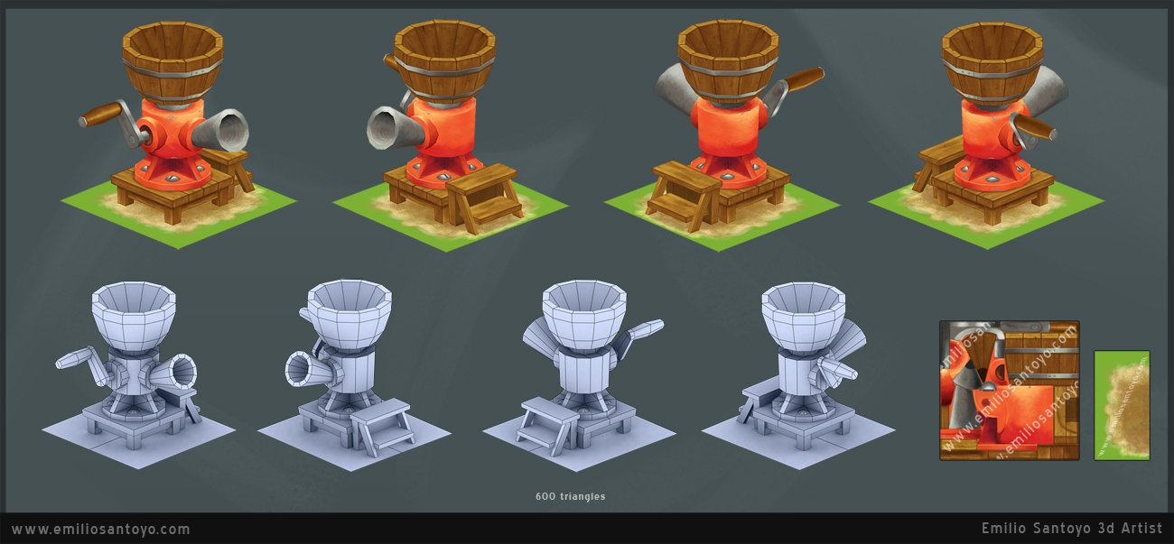 FeedMaker based on FarmVille concept. Software used 3ds Max, and PhotoShop.