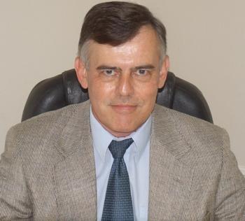 Earl McRae at Desk