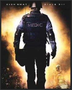 Medic walking towards fire||||