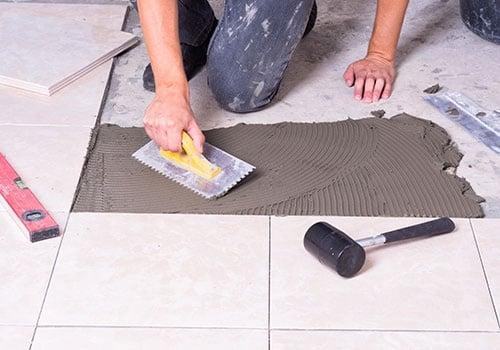 Tile Installing