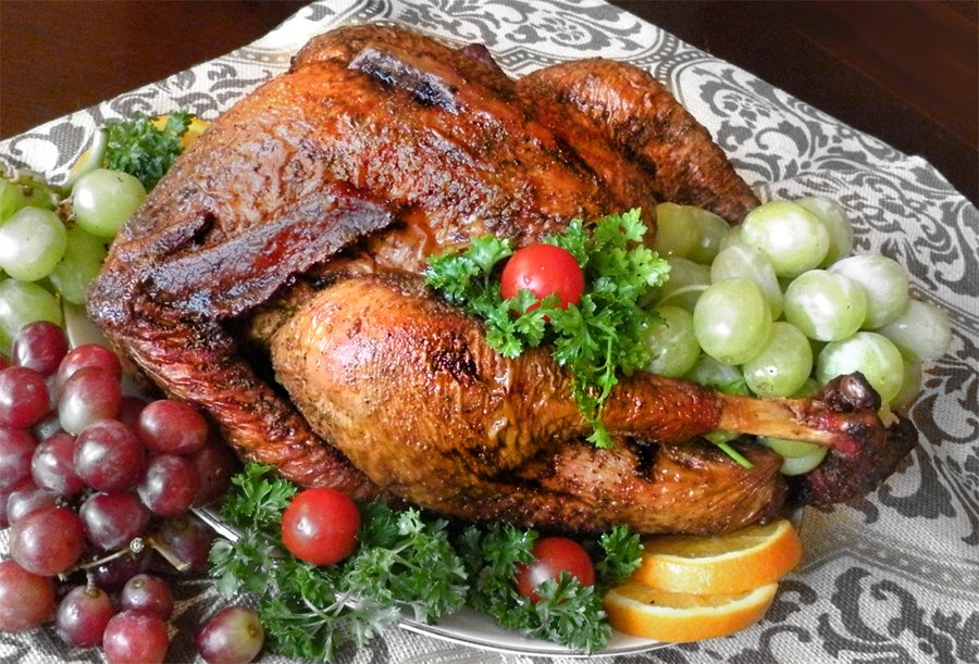 Whole Smoked Turkey 2015