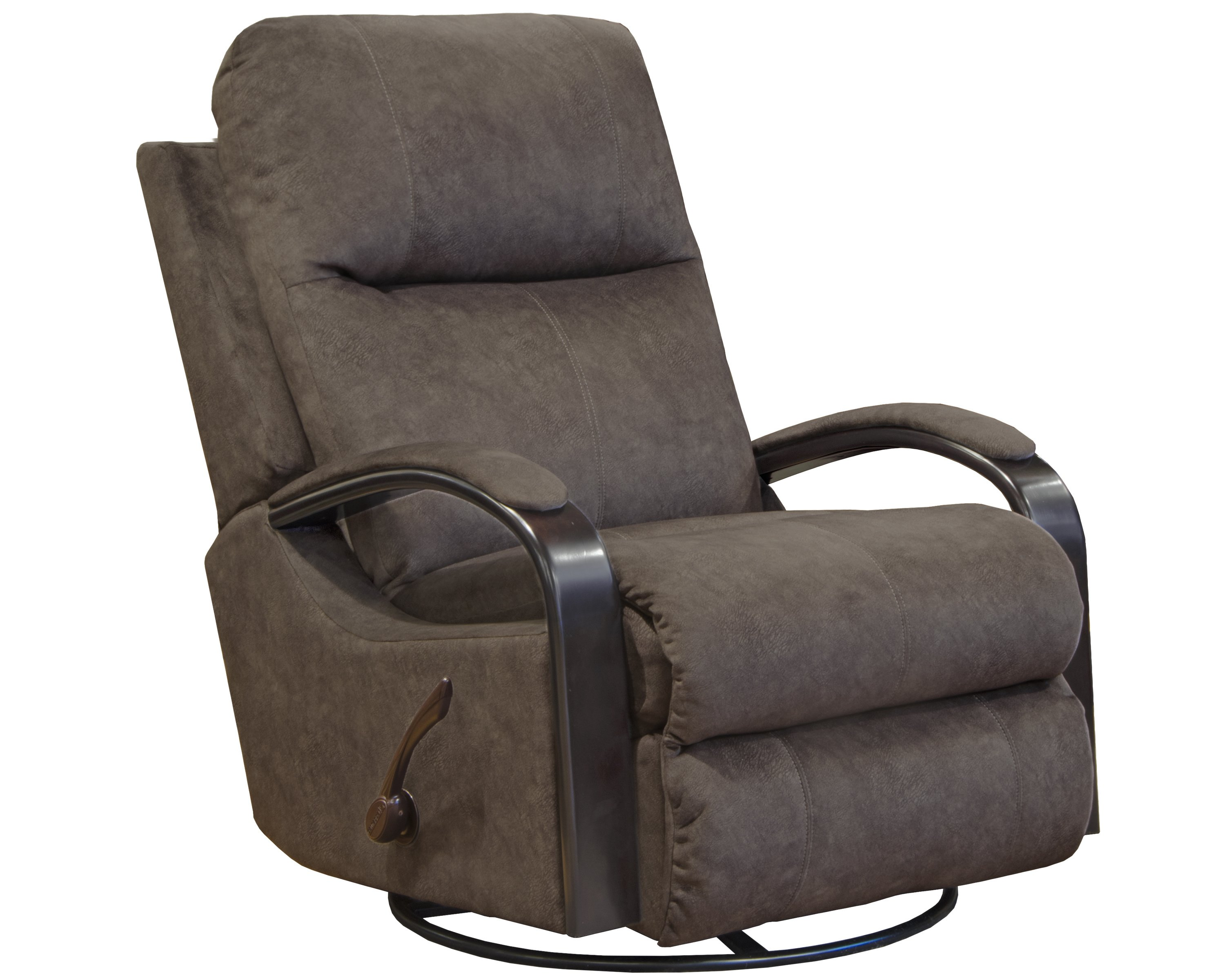 4703 Swivel Glider Recliner Brown