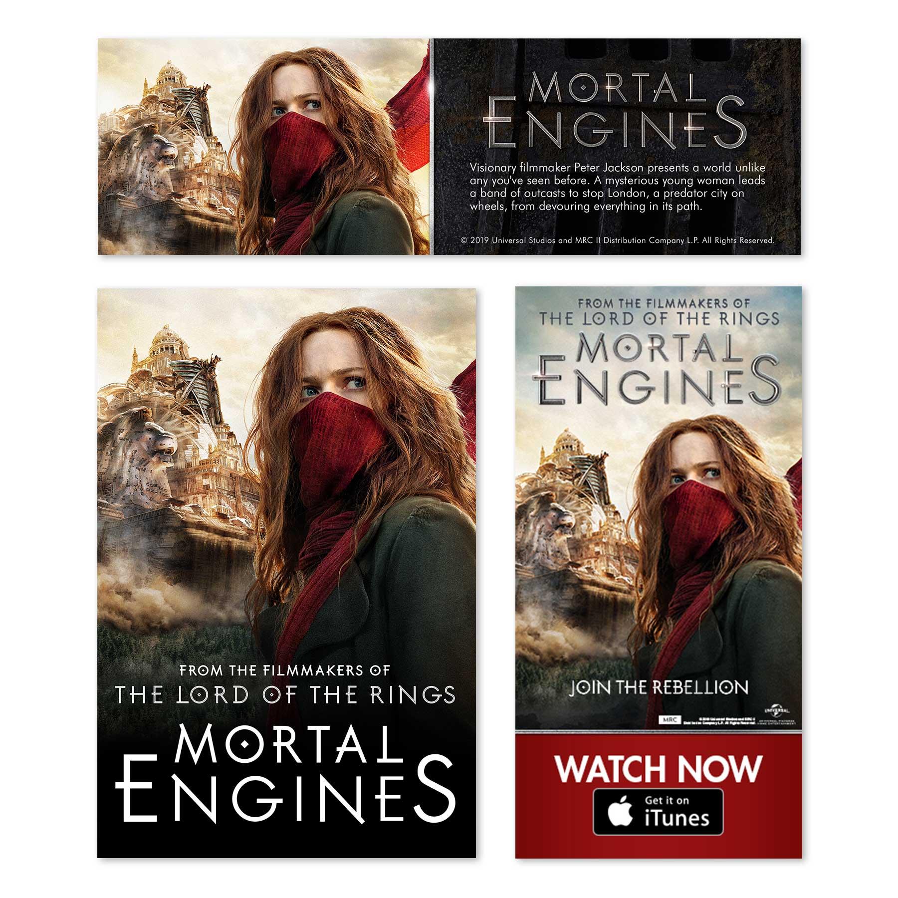 Mortal Engines Amazon & iTunes Banners