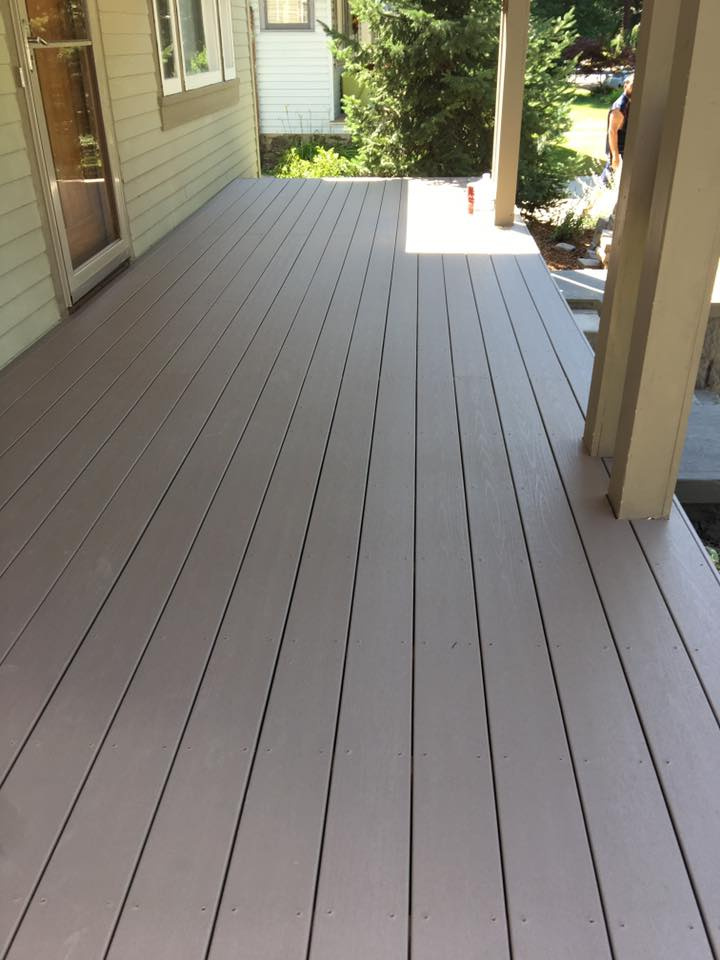 New Deck In Progress