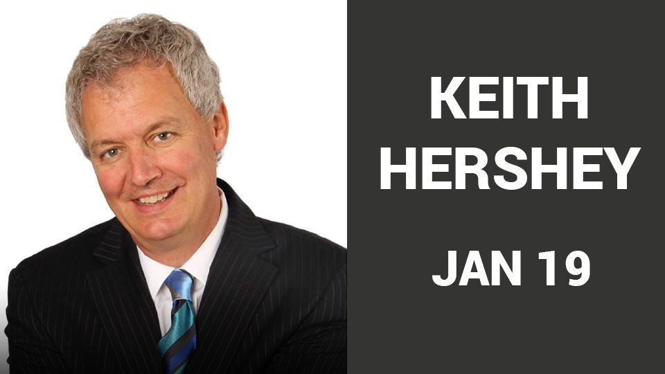 Join us for Keith Hershey Sunday January 19 at 10:15 AM.