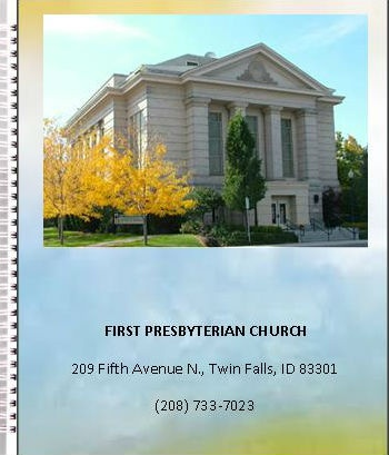 First Presbyterian Church Twin Falls 2018 PHOTO DIRECTORY