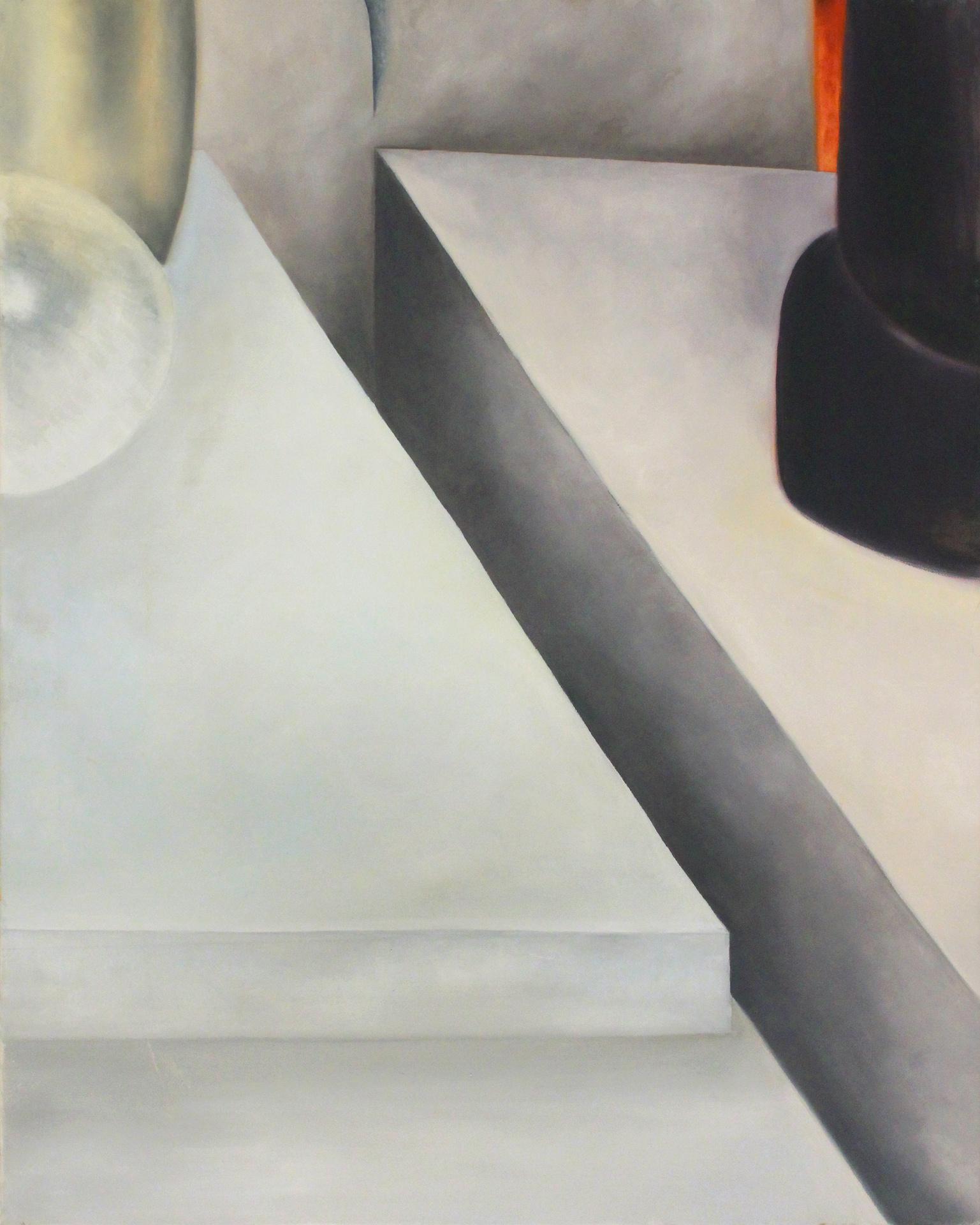 Ilusiones postergadas Oleo sobre lienzo 76 x 61