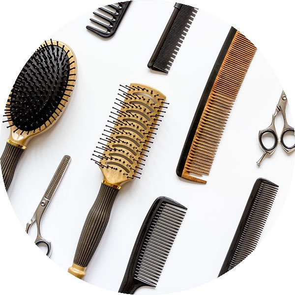 Combs and Hairdresser Tools