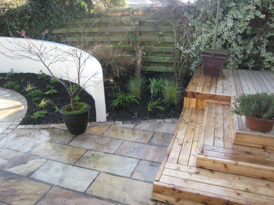 Contempory Garden In Carrickmines
