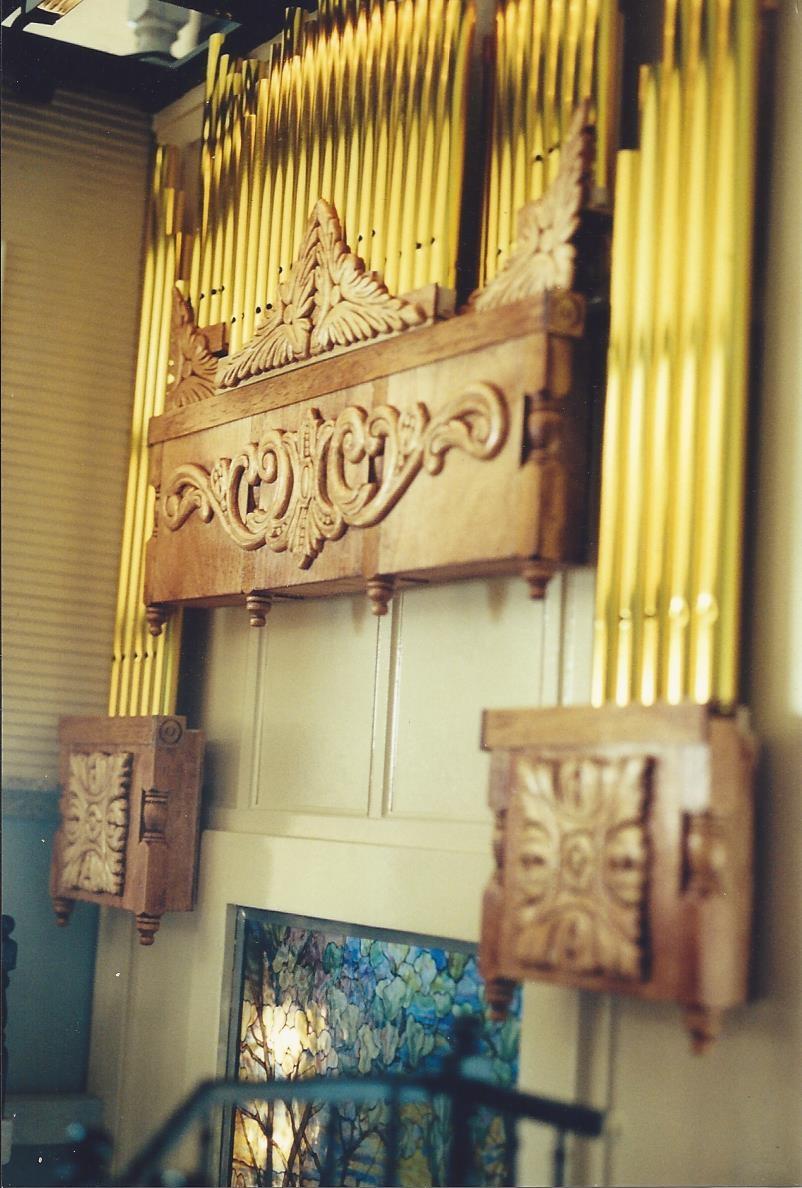 Chateau du Bois Pipe Organ
