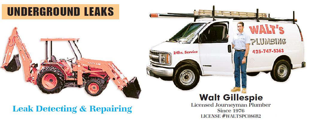 Walt S Plumbing Quality Plumbing Services In Bellevue