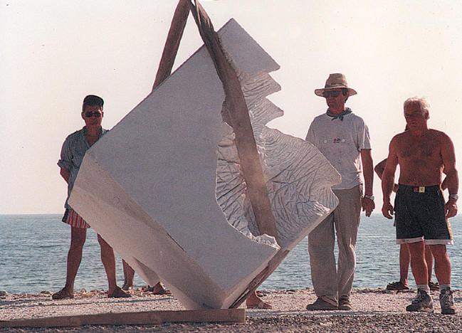 During work- Marina di Carrara- Italy ,97