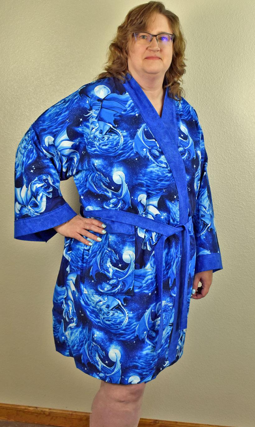 Blue Dragon Custom Kimono