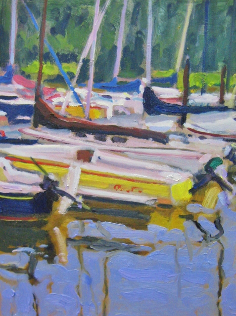 Francis, Yellow Boat