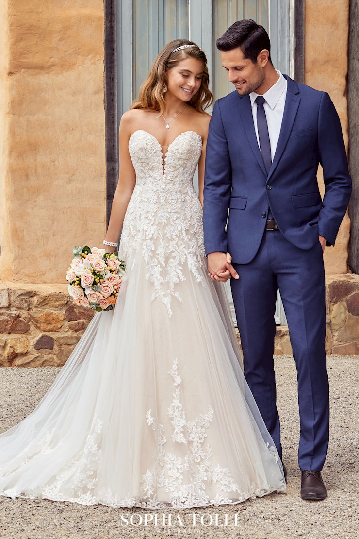 Sophia Tolli Suit and Bridal Gown 3