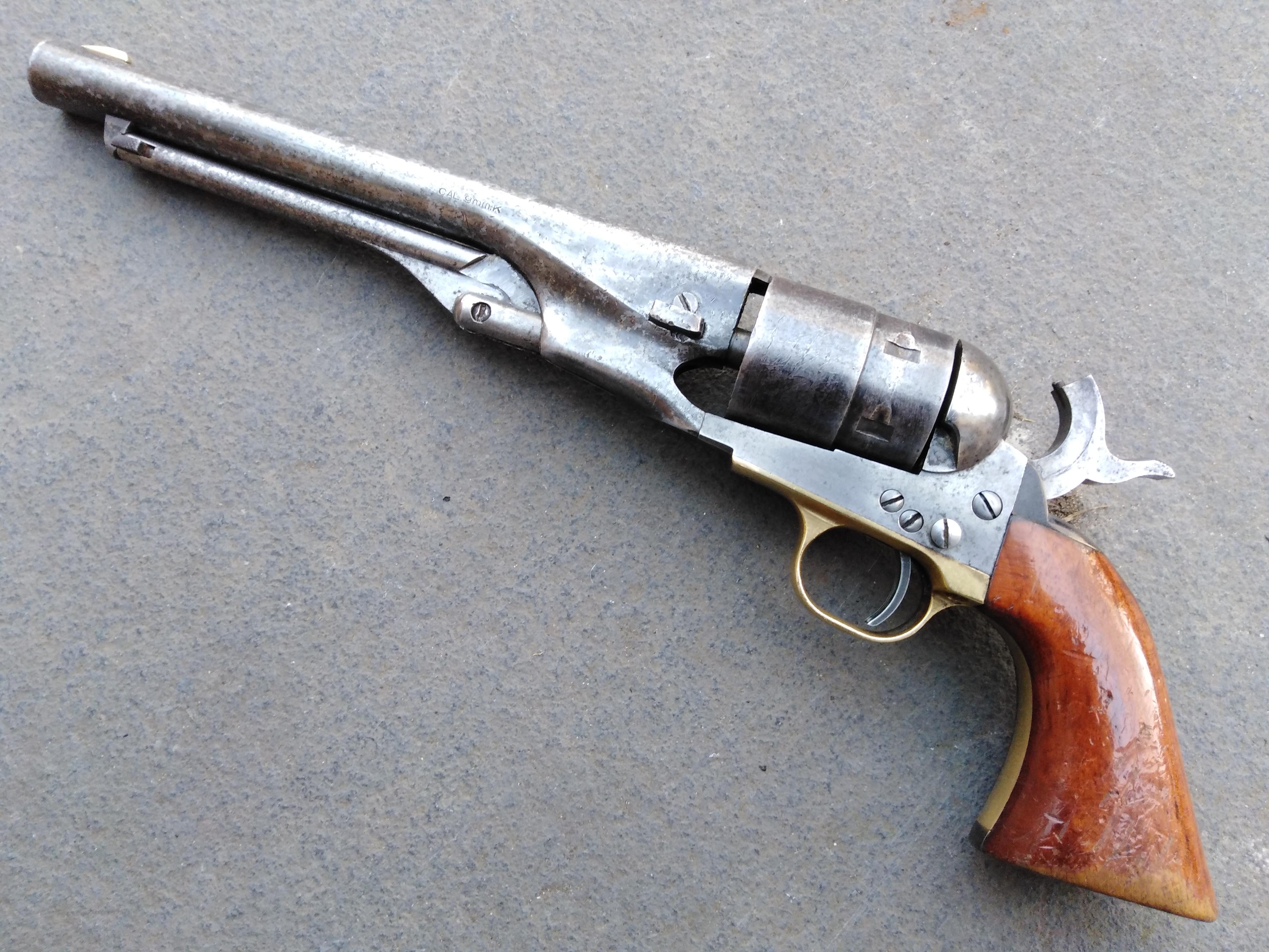 """Pietta Colt 1860 """"Antique"""" Finish"""