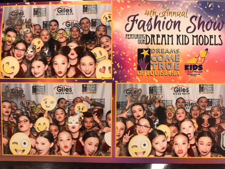 Tonight DWCC Juniors had the honor of performing the opening act for the Dreams Come True Fashion Show Fundraiser! This organization grants wishes to kids living with cancer and life-threatening illnesses. #survivor #DCToflouisiana #dwdancer