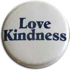 Love Kindness Button