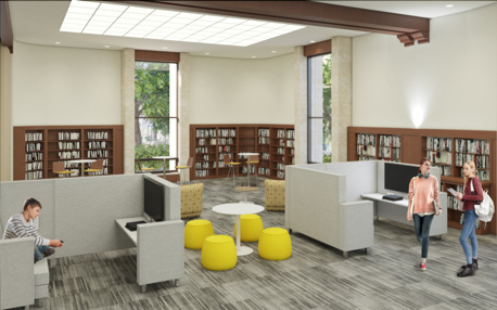 Coral Gables Library Young Adults William B. Medellin Architect, PA XpressRendering, Inc.