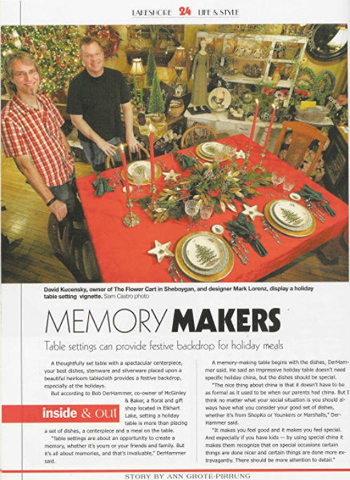 Lakeshore Life & Style Magazine, Winter 2005, Page 24
