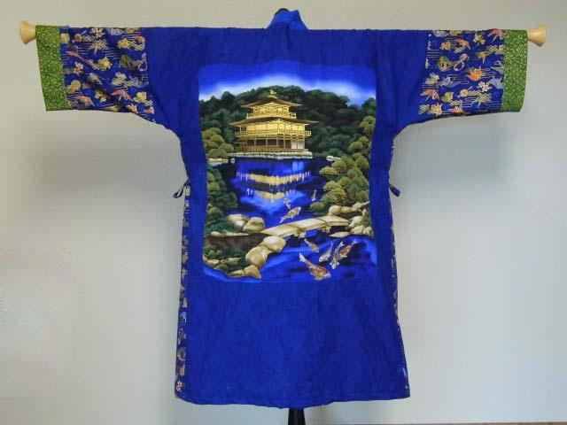 Blue Temple Kimono(Back)