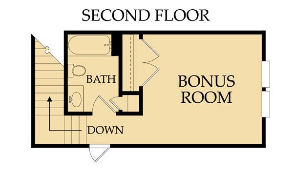 Adeline Bonus Floor Plan