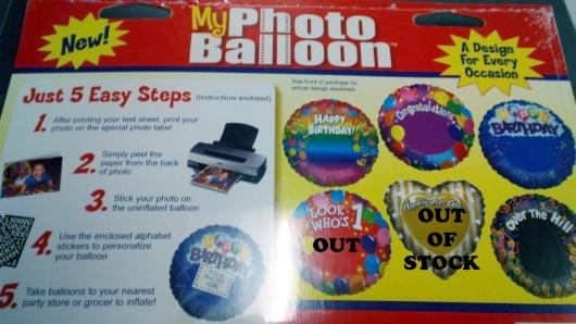 MyPhoto Balloon