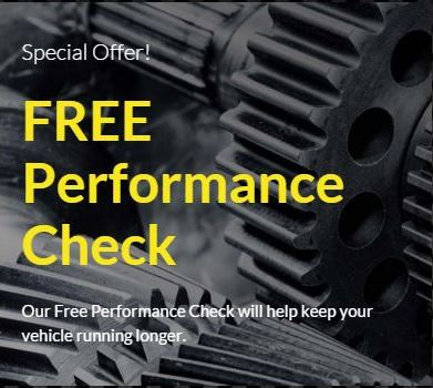 FREE Performance Check