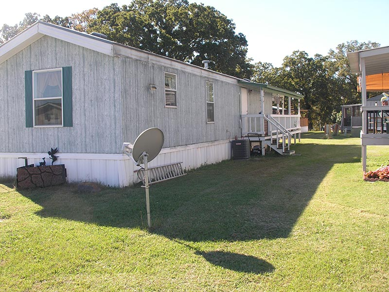 Mobile home and antenna