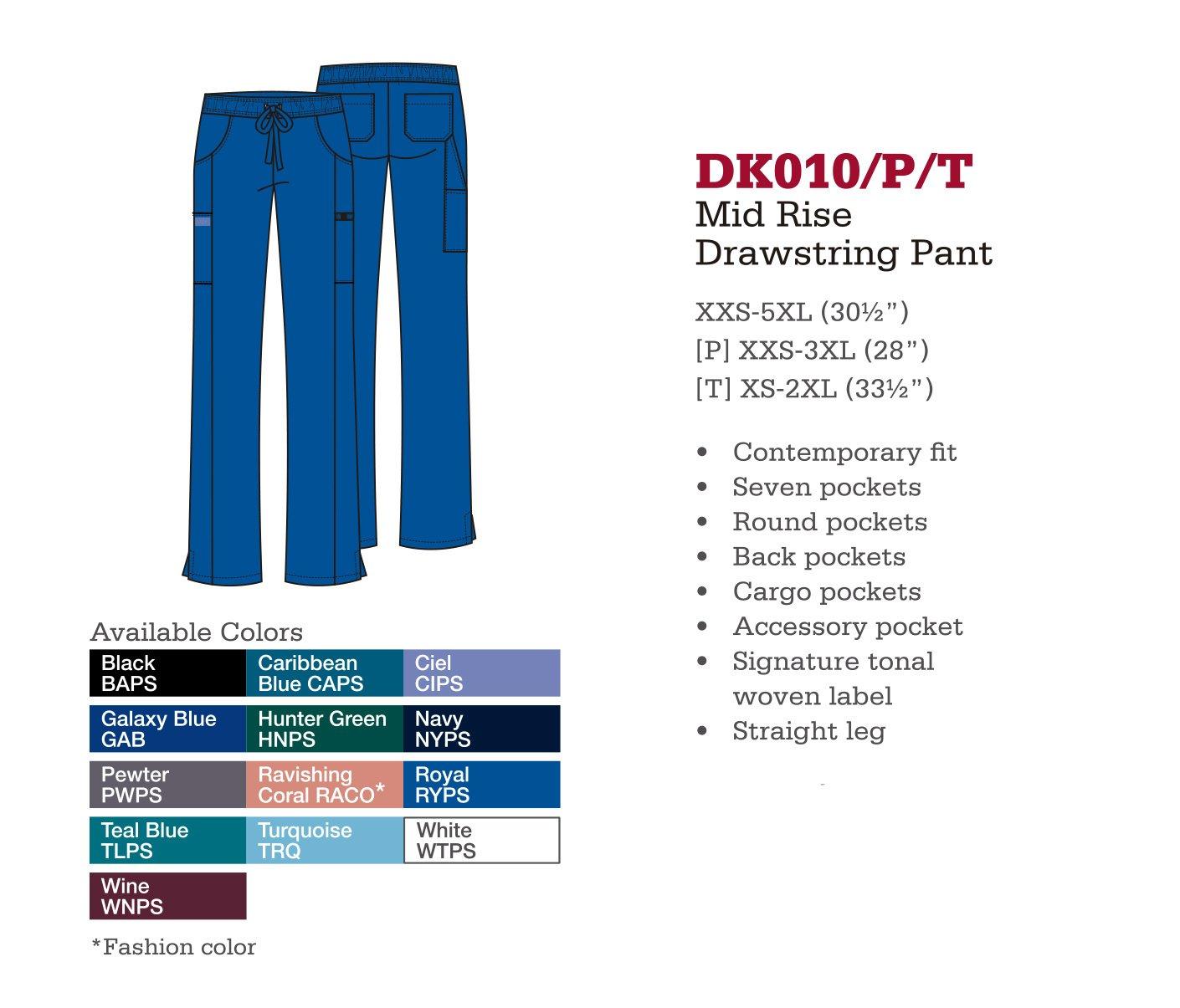 Pantalón de Cordones a Medio Levantar. DK010/P/T.