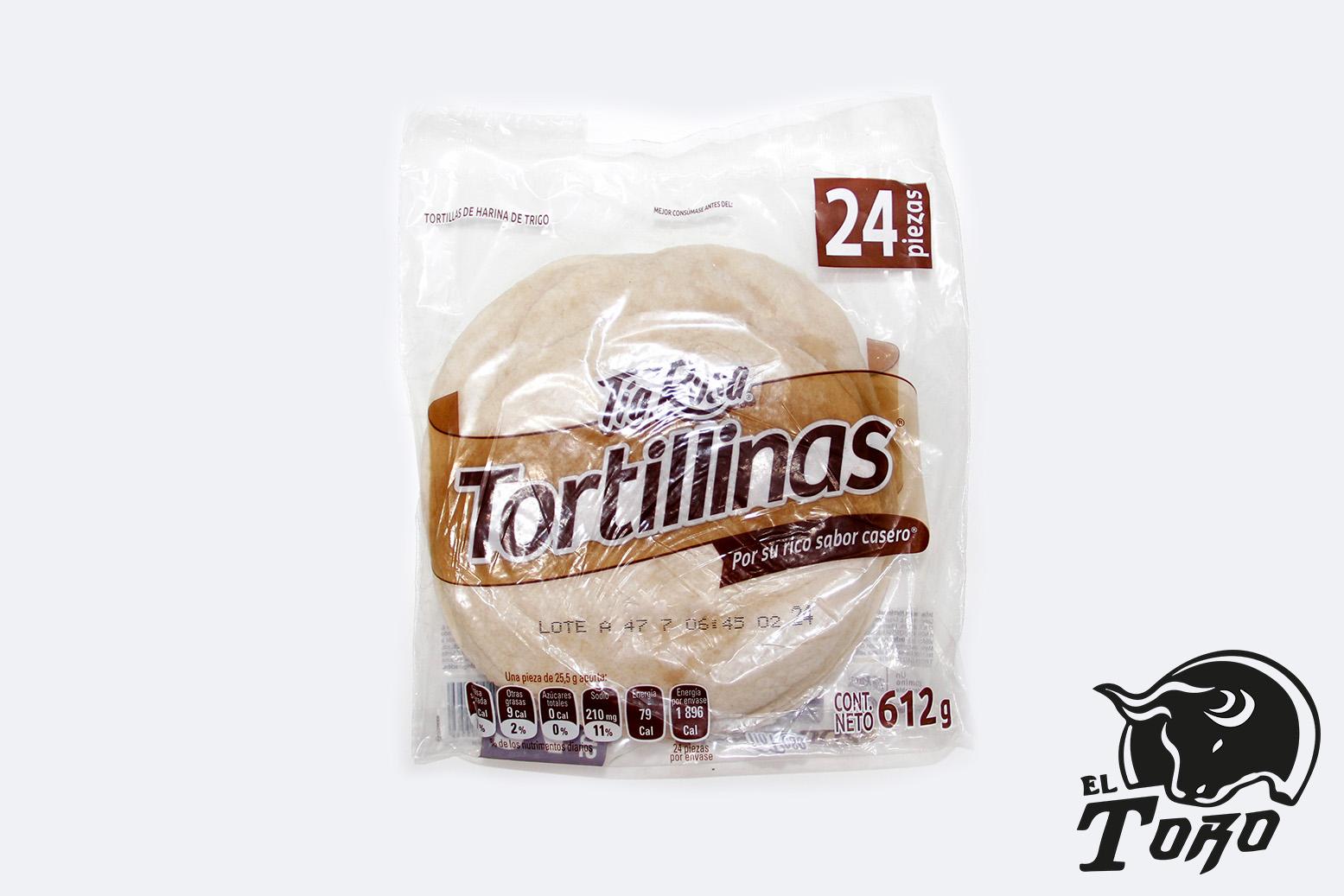 TORTILLA DE HARINA TÍA ROSA