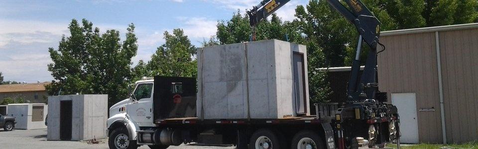 Bunker Shelter on Truck