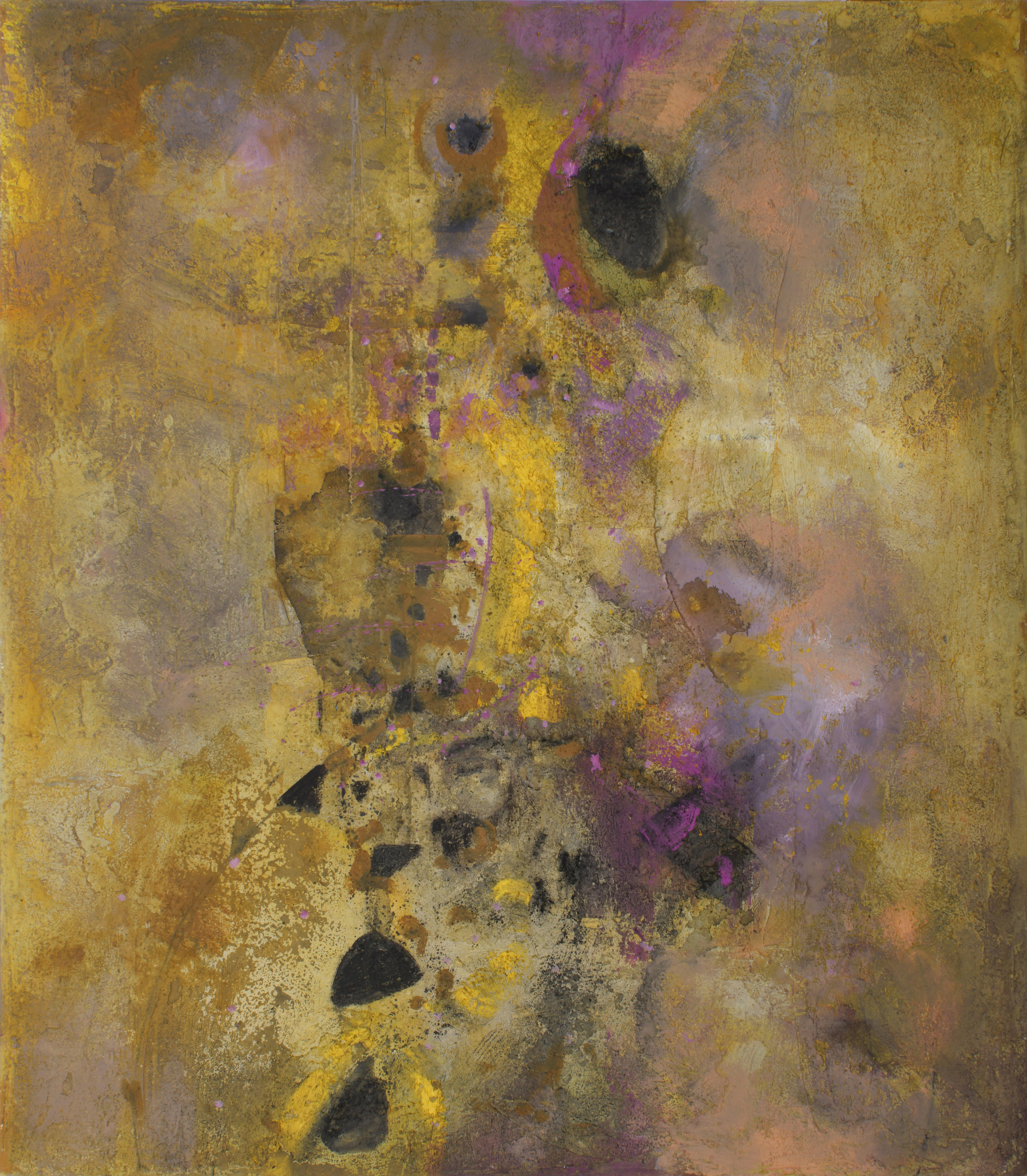 Texturas invisibles óleo s/tela 160 x  140 cms. / 63 x 55 inches