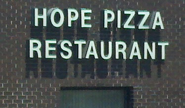 Sign of Hope Pizza Restaurant||||