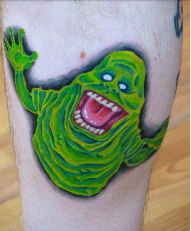 Slimer Tattoo