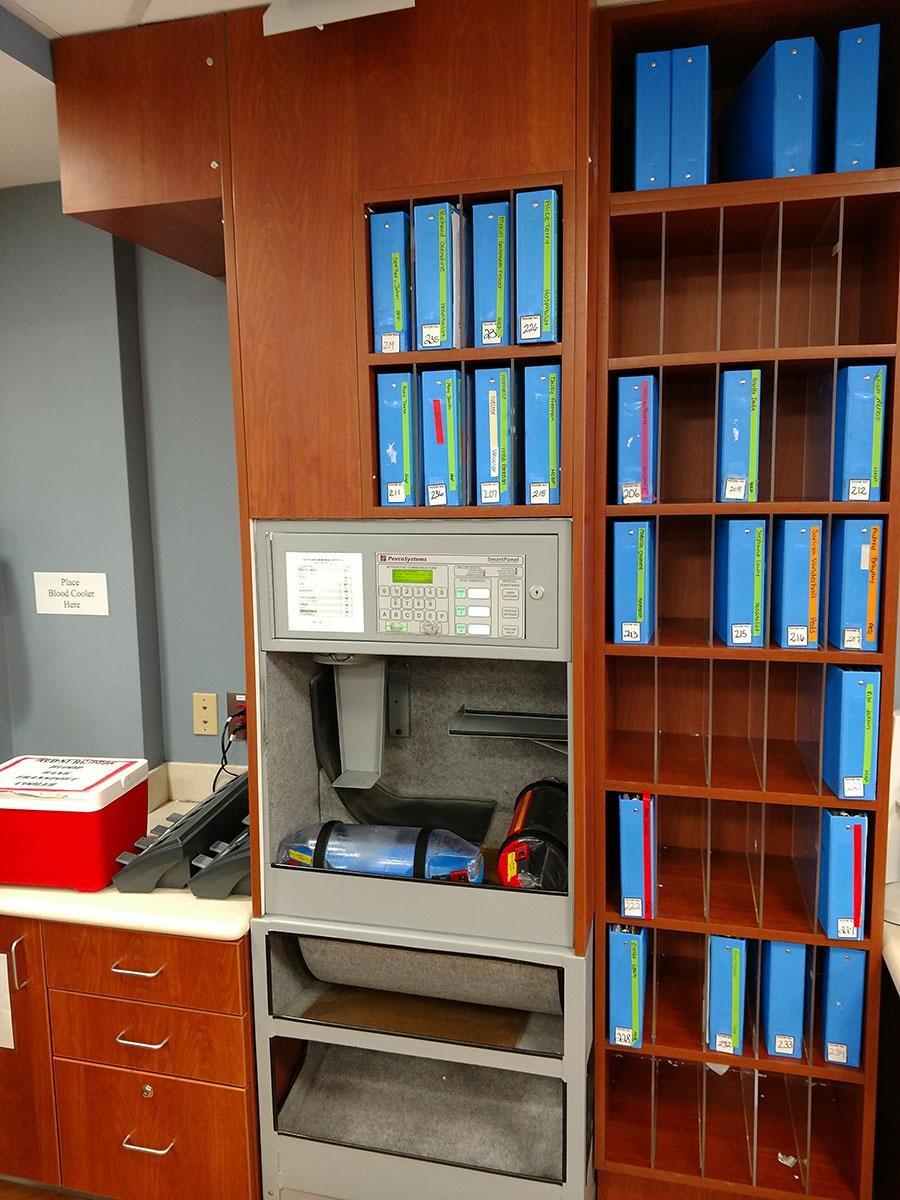 Stylish File Casework