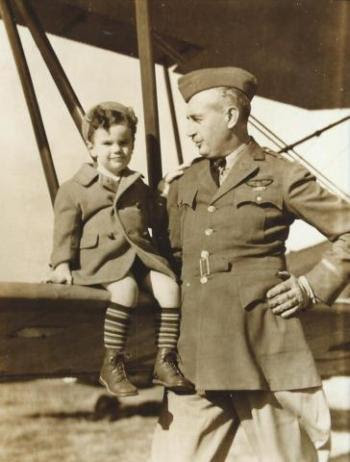 My father and grandfather,  Brigadier General William Warren  Welsh, Sr. - 1935