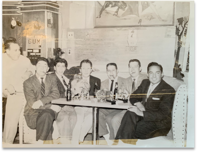 Old Picture of Mexico City Lounge
