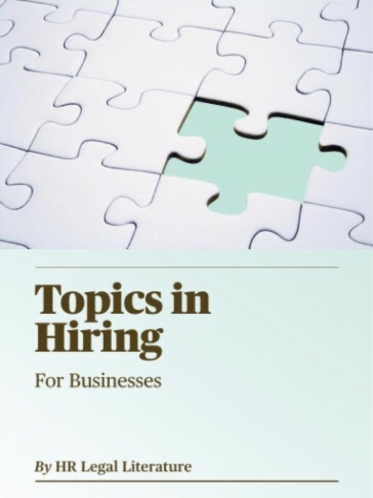 Human Resources, Small Businesses, HR Hiring, Job Interview, HR e-book