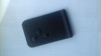 3 Buttons renault Megane Spare key card key card cut and Programmed