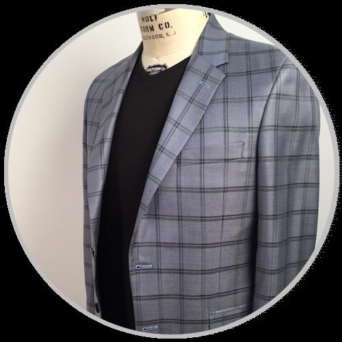 Grey Squared Suit