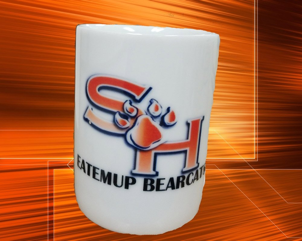 Sam Houston Bearcats Coffee Cup This cup was designed for a member of Sam Houston Bearcat. You can design one for a friend or a love one.