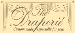 The Draperie in North Ridgeville, OH will design and furnish your custom window treatments.