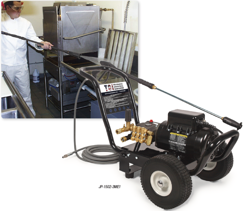 JP Series Electric Belt Drive COLD WATER PRESSURE WASHERS